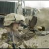 Marine Capt. Erin Demchko is shown in this still image from a recent TV advertisement released by the U.S. Marines as part of an effort to recruit women. (U.S. Marine Corps via AP)